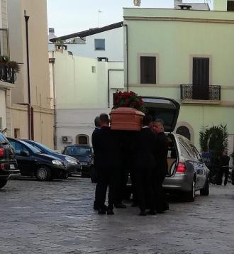 Matino, funerali di Mario Romano