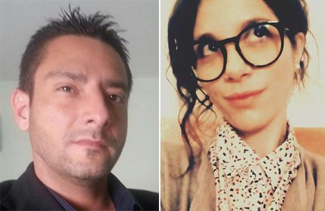Gianluca Memmi e Ottavia Miglietta