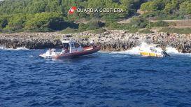 porto selvaggio natante alla deriva soccorsi