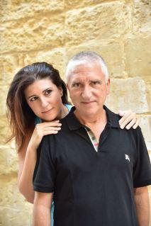 Carlo Scorrano e Valentina Parentera