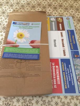 Casarano, il kit informativo per la raccolta rifiuti