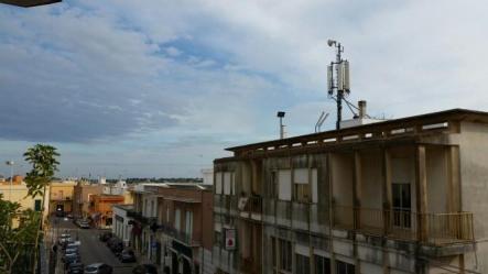 Sannicola, l'antenna di piazza della Repubblica