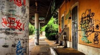 Stazione ferroviaria di Parabita - prima