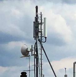 Sannicola, l'antenna di via Quisisana