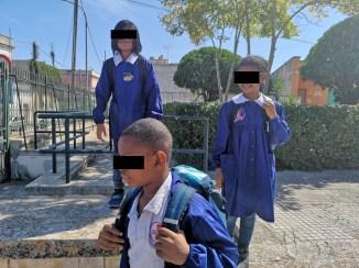 primo giorno di scuola Sprar