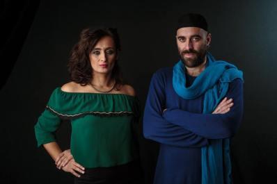 Enza Pagliara e Dario Muci