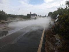 Fuga di gas a Pescoluse (2)