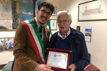 Vittorio Perrone con Andrea Giuranna