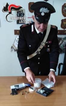 Droga carabinieri Maglie