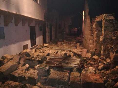 Giuliano di Lecce Castrignano del Capo tornado 1