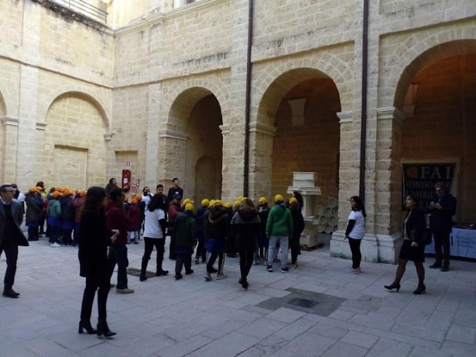 L'ingresso nell'antico convento