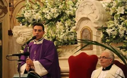 Don Francesco Fiore e don Antonio Albano (foto Pejrò)
