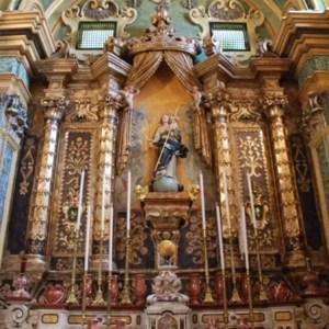 L'interno della chiesa di Sant'Antonio a Nardò