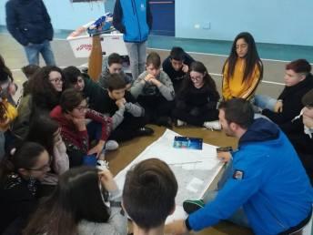 Le attività con i ragazzi al Vespucci
