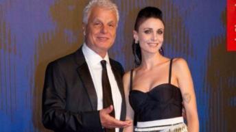 Michele Placido e Federica Vincenti