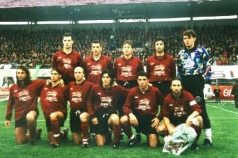 Il Nardò del 1995_96 guidato nel girone d'andata da Mimmo Renna