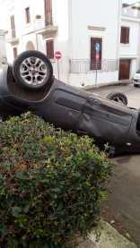 L'incidente a Taviano