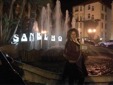 Vincenza De Rinaldis a Sanremo