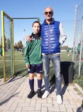 Nicholas con Giovanni Quarta
