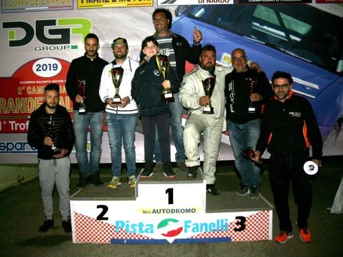 Il podio a Torricella (foto Andrea Calsolaro)