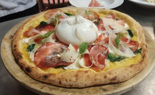 La pizza di Mattia Reho che ha conquistato il quarto posto