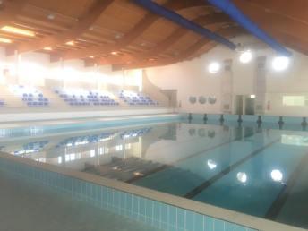 La piscina comunale di Racale