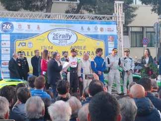 Rally Città di Casarano 2019, la premiazione dei vincitori