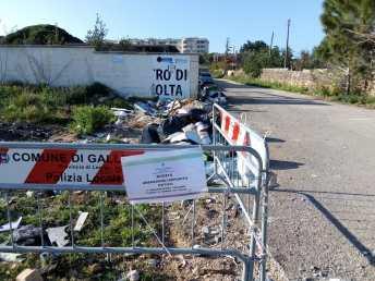 ecocentro gallipoli rifiuti abbandonati 2