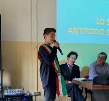 Il vice-sindaco Baby Antonio Sarnelli
