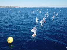 Opti Sud regata per bambini Gallipoli