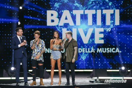 Battiti live a Gallipoli, i presentatori sul palco
