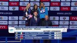 Erika Gaetani sul podio a Kazan