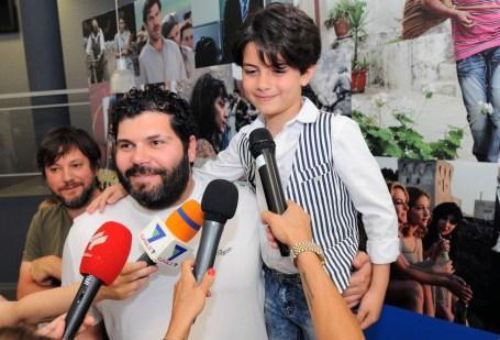 Samuele Carrino con Salvatore Esposito