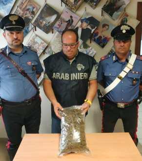 L'arresto di fausto Nicolì, la droga sequestrata