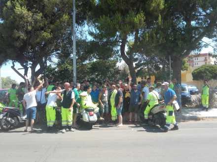 nettuerbini sciopero Comune Gallipoli