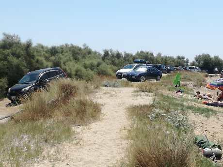 parcheggi selvaggi Torre Mozza 6