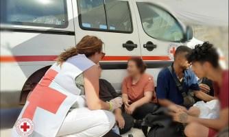Leuca, i soccorsi della Croce rossaanti