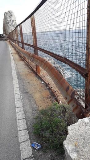 Guard rail Montagna spaccata