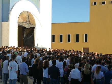 Casarano, i funerali di Alessandro Crespino
