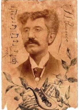 Francesco Luigi Bianco e la firma originale di Giuseppe Tricarico