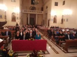 La celebrazione della messa in chiesa madre