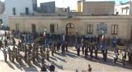 La cerimonia a Gagliano del Capo