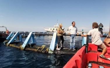 Donatella Bianchi e Aldo Reho durante le riprese