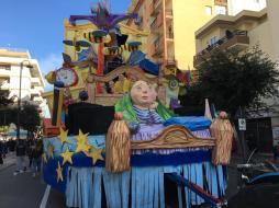 Carro Comitato Festa Santa Cristina