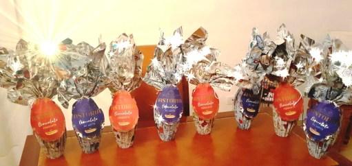 Le uova di Pasqua donate ai bambini di Montesano Salentino