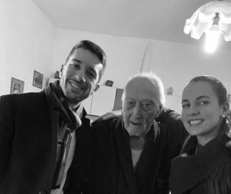 Vito Nicola Delle Donne tra gli assessori Lorenzo Bello e Cristina De Benedetto (foto ante Covid)