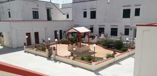 Gallipoli, il condominio Sant'Antonio