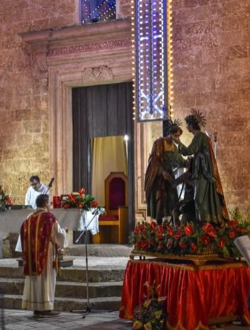 La messa a Castrignano (foto Isa Esposito)
