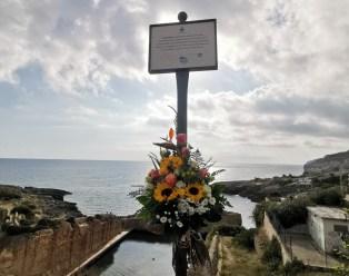 Il ricordo di Luigi Russo a Marina di Novaglie