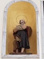 La statua di Sant'Isidoro